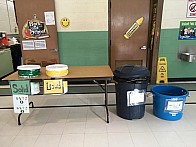Stamford School food collection system